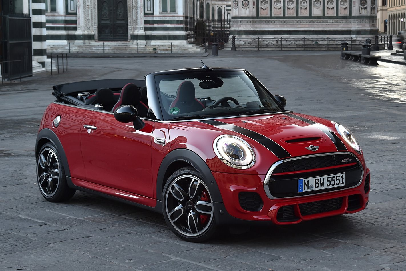 mini john cooper works convertible launched wheels. Black Bedroom Furniture Sets. Home Design Ideas