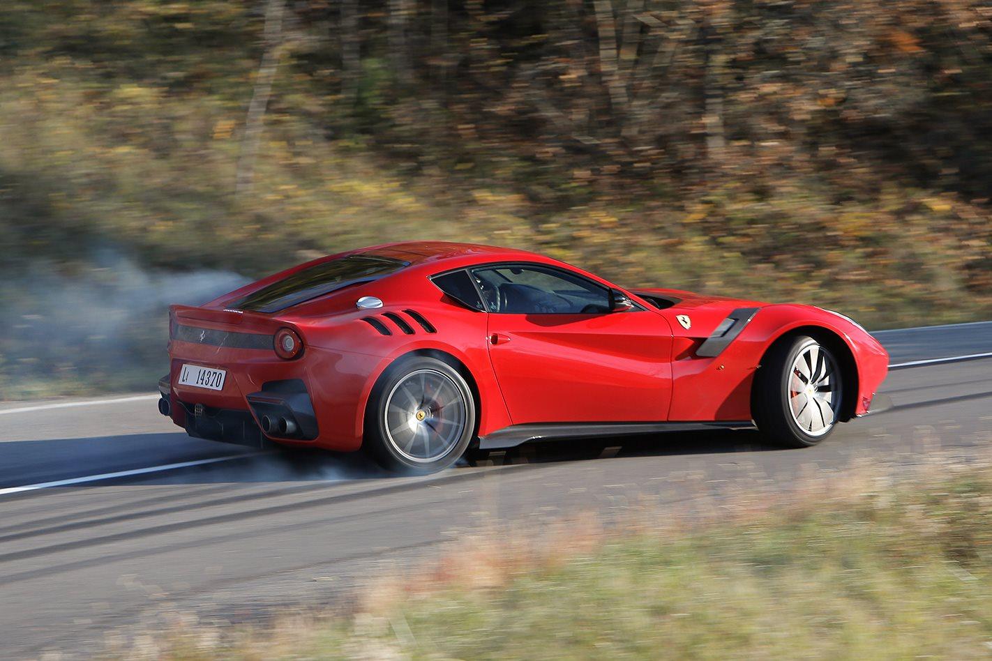 Aventador >> 2016 Ferrari F12 tdf review | Wheels