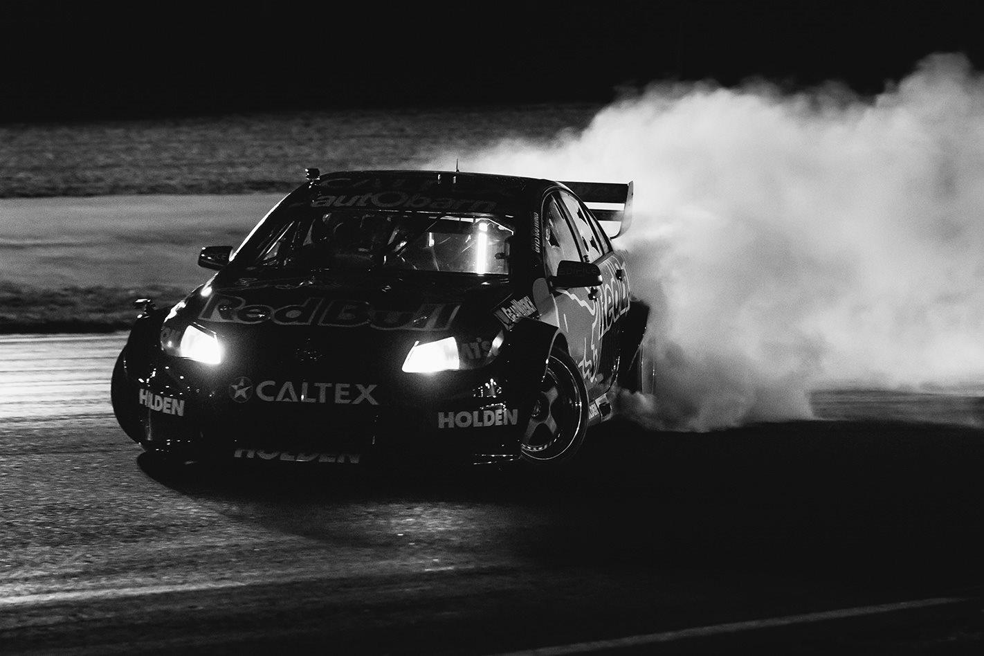 Shane Van Gisbergen Puts On Smokeshow In Supercar Turned Drift