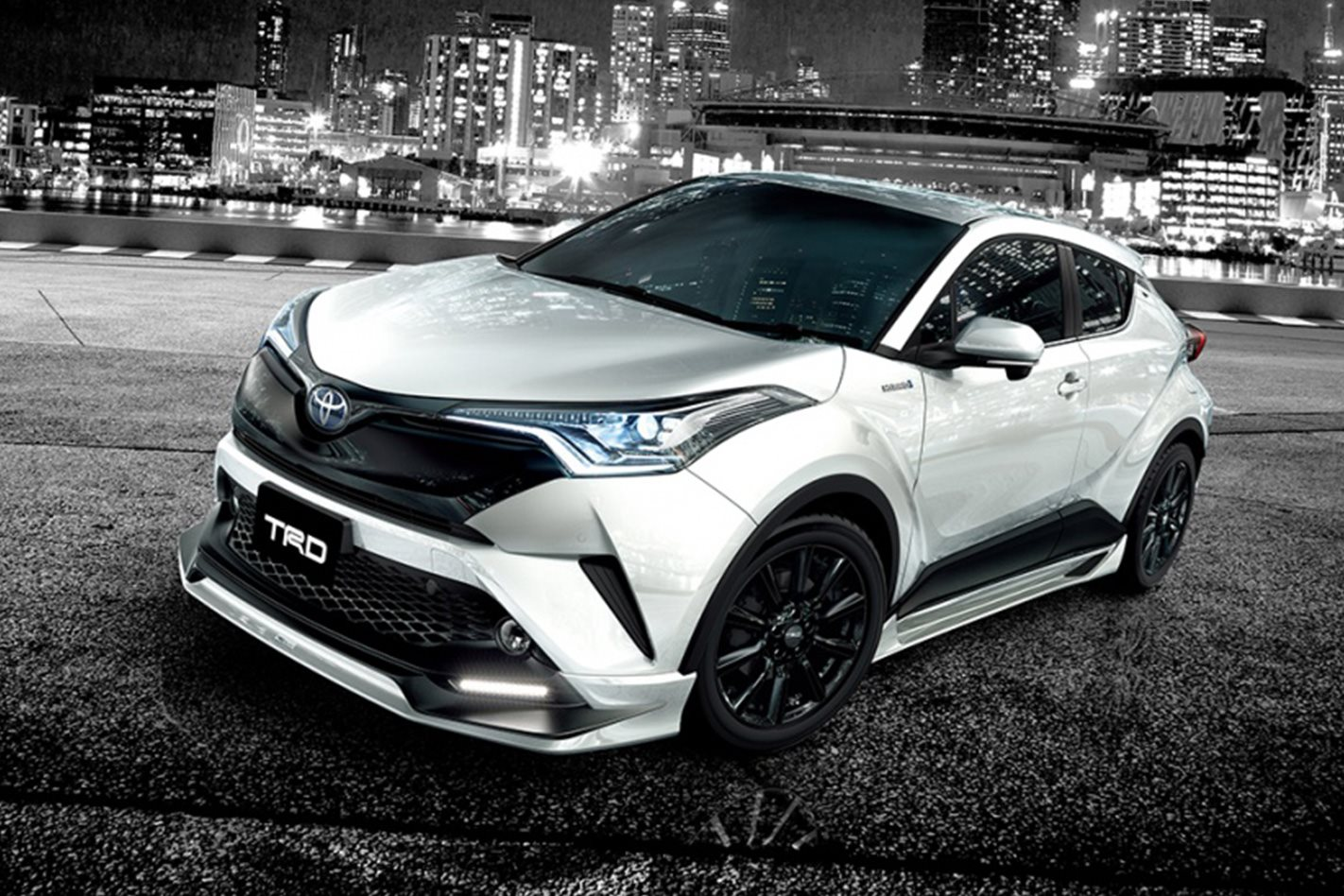 toyota c hr gets trd makeover for tokyo auto salon wheels. Black Bedroom Furniture Sets. Home Design Ideas