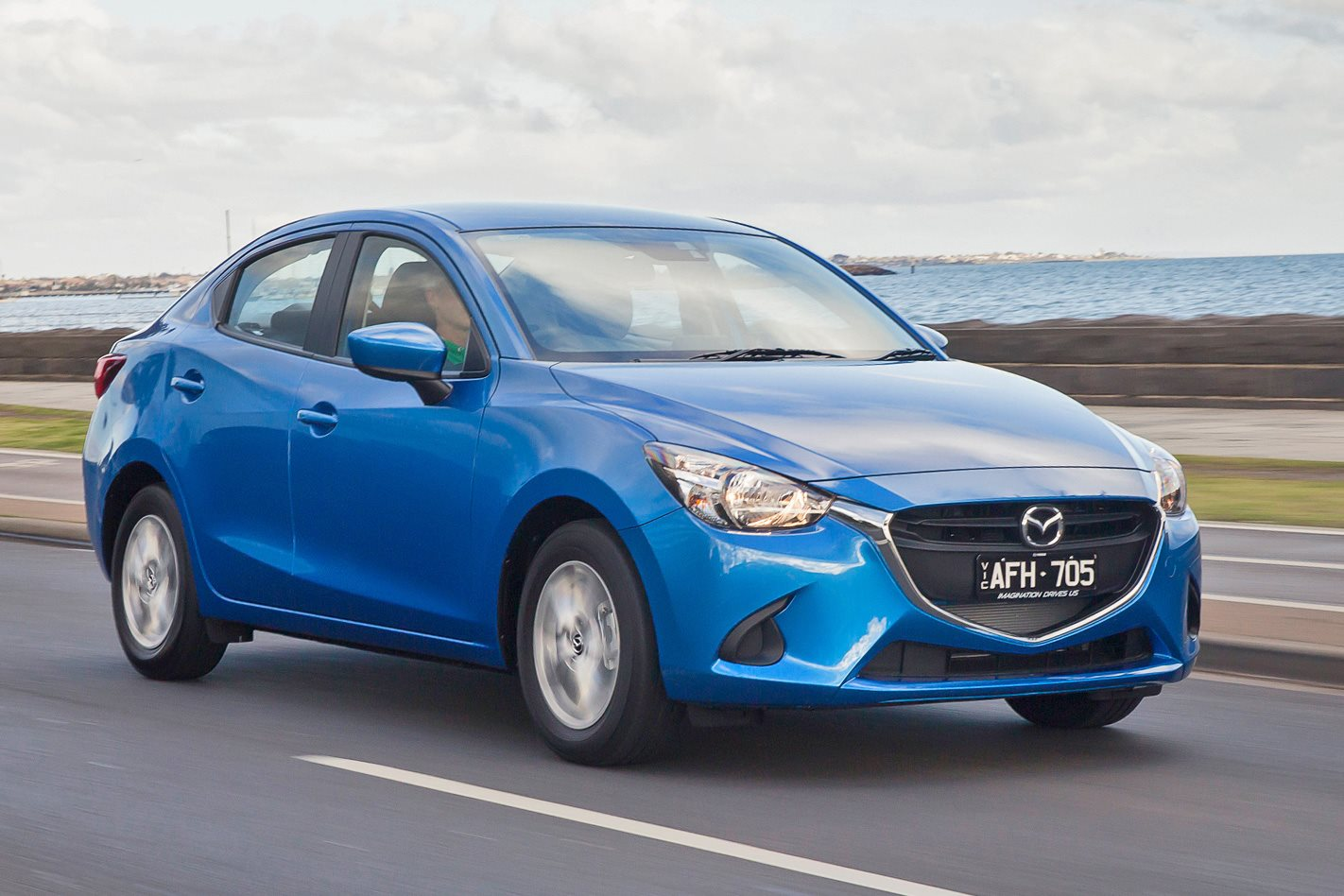 2015 mazda 2 sedan first drive review. Black Bedroom Furniture Sets. Home Design Ideas
