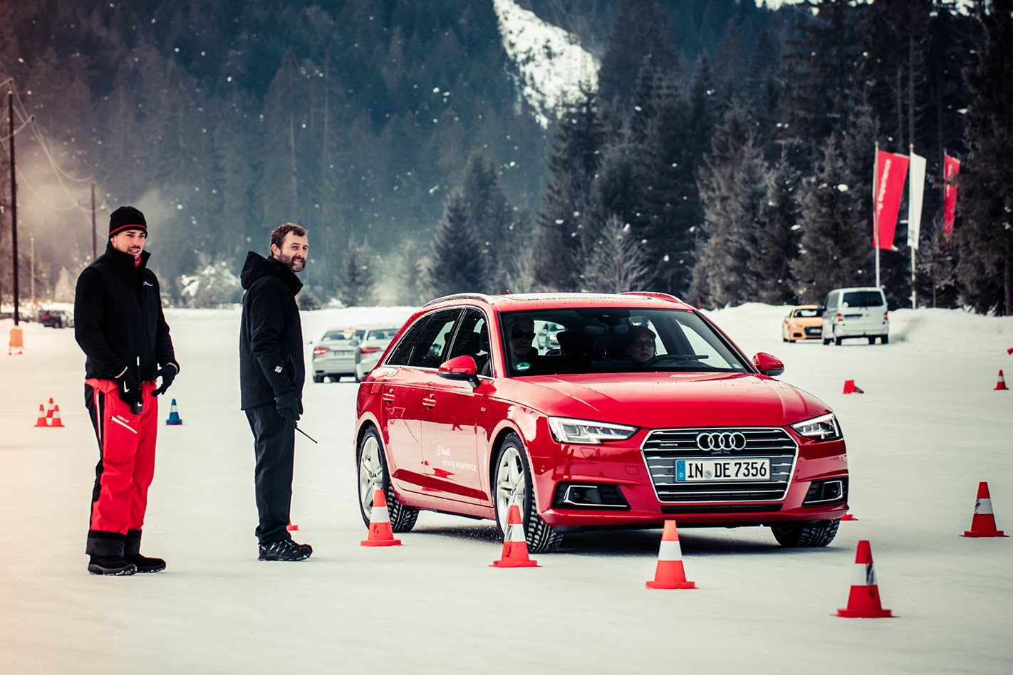 audi driving experience on ice in seefeld austria. Black Bedroom Furniture Sets. Home Design Ideas