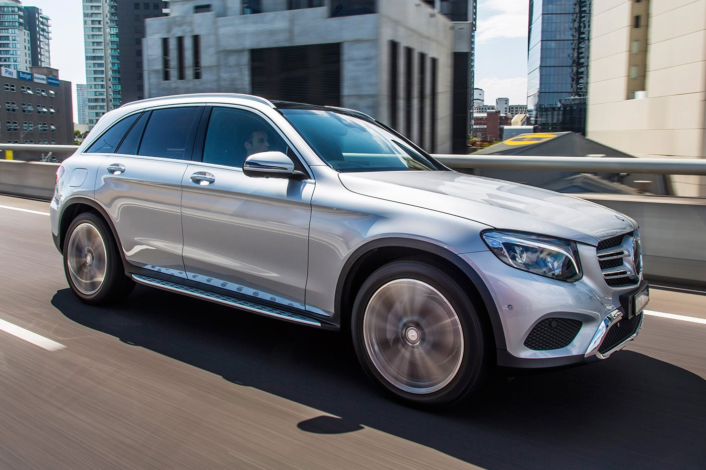 buying a new car mercedes benz glc
