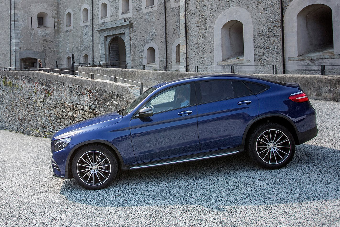 Mercedes benz glc coupe priced with big premium over wagon for Mercedes benz big car