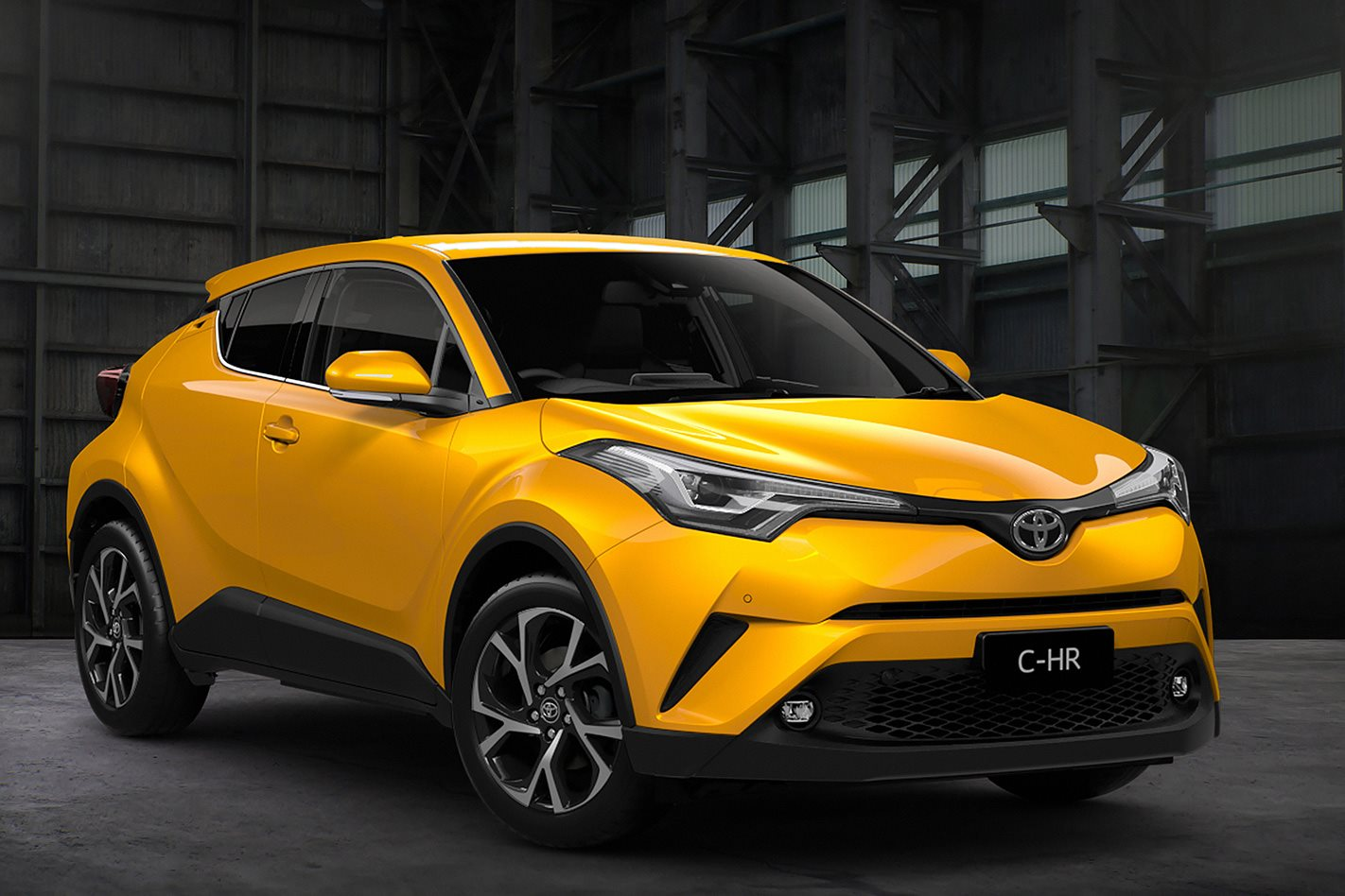 2017 Toyota CH R To Use High tech 12 litre Turbo Engine