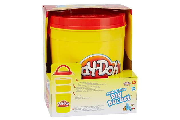 ***Playdoh $39 available at Target*** (3yrs+)   Playdoh is a tried and tested favourite that will be fun for the whole family. This big bucket storage tub makes the fun easy to pull out and put away after your kids have had fun creating!