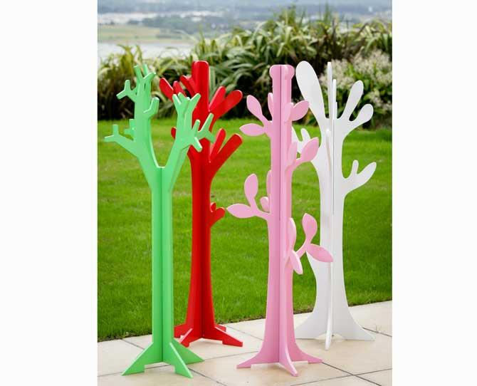 OVER $50  Fabulous for dress-ups or for all those hats, coats and bags that kids accumulate, the Children's Tree Hangers, $59.95, by Lime Tree Kids will brighten up any room.