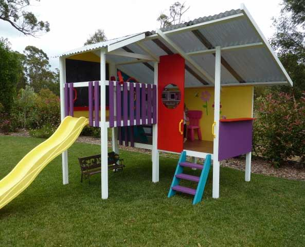 """This super-cool triplex cubby from [My Cubby](http://mycubby.com.au/