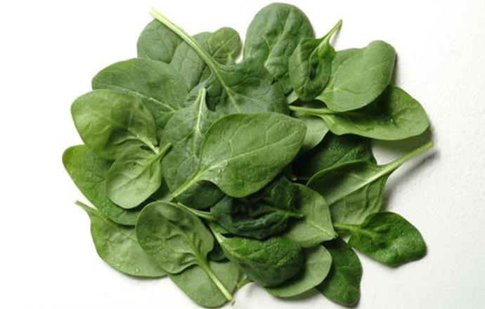 **Spinach** <br><br> The green is rich in magnesium, important for healthy nerve function, which can settle restless sleepers prone to twitching.