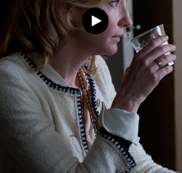 Cate Blanchett in Chanel for Woody Allen's Blue Jasmine