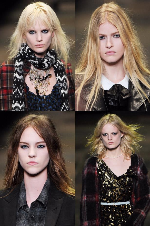 <strong>Smoky stare</strong><br> Lived-in makeup is all the rage. The trick is not to care. Draw it on and smudge it around for that Winona Ryder cool factor. <br> <em>Runway: Saint Laurent Paris</em>