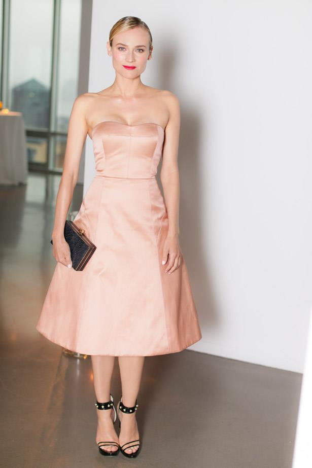 Diane Kruger repped her designer friend Jason Wu in his clean-line creation.