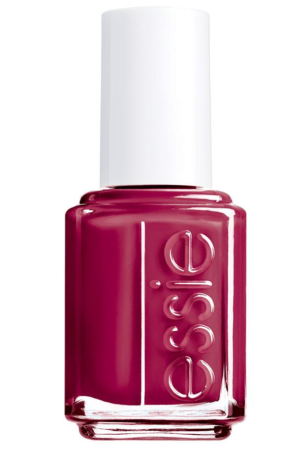 """<p><strong>Alyx Gorman, features director</strong></p> <p>""""It looks austere and a little dangerous.""""</p> <p><em>Nail polish in Fishnet Stockings, $9, [Essie](https://www.essie.com/nail-polish/enamel/reds/fishnet-stockings target=""""_blank"""" rel=""""nofollow"""").</em></p>"""
