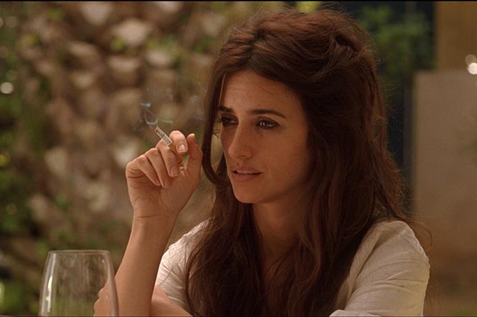 Maria Elena, <em>Vicky Christina Barcelona</em>: Vicky and Christina had their charm, but in this homage to the Catalonia capital, it was Penélope Cruz who stole the show. Allen well understands the allure of the crazy girl, and Maria Elena had it all: radiant talent, stunning looks, bisexual tendencies and, most of all, the ability to go batshit mental at the drop of a hat.