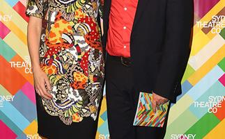 Cate Blanchett and Andrew Upton at the launch of Sydney Theatre Company's 2014 season