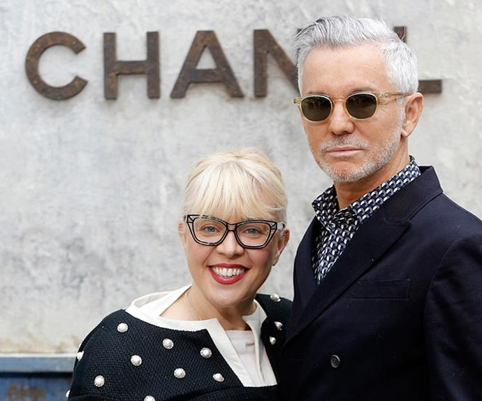 Baz Luhrmann and wife Catherine Martin