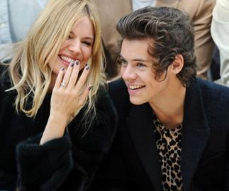 Kate Moss and Harry Styles