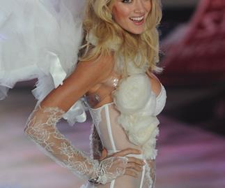 Lindsay Ellingson on the Victoria's Secret Show runway