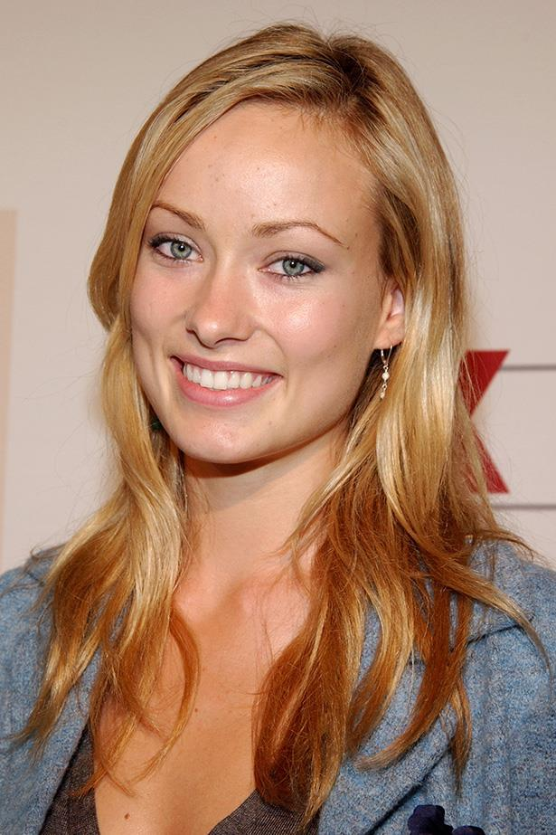 As a fresh new face on the O.C., a blond-haired Olivia Wilde attends a 2004 Fox Fall Season Party in West Hollywood.