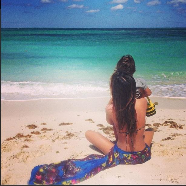 "@MirandaKerr ""Was such a beautiful weekend by the ocean"""