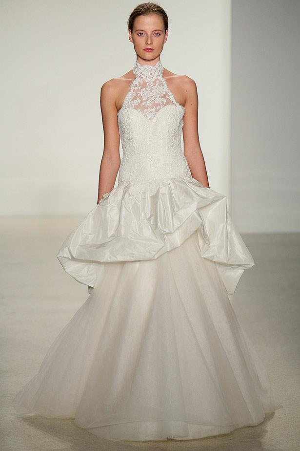 Kenneth Pool AW14 bridal runway show in <br>New York