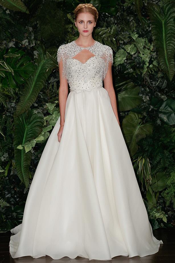 Naeem Khan AW14 bridal runway show in <br>New York