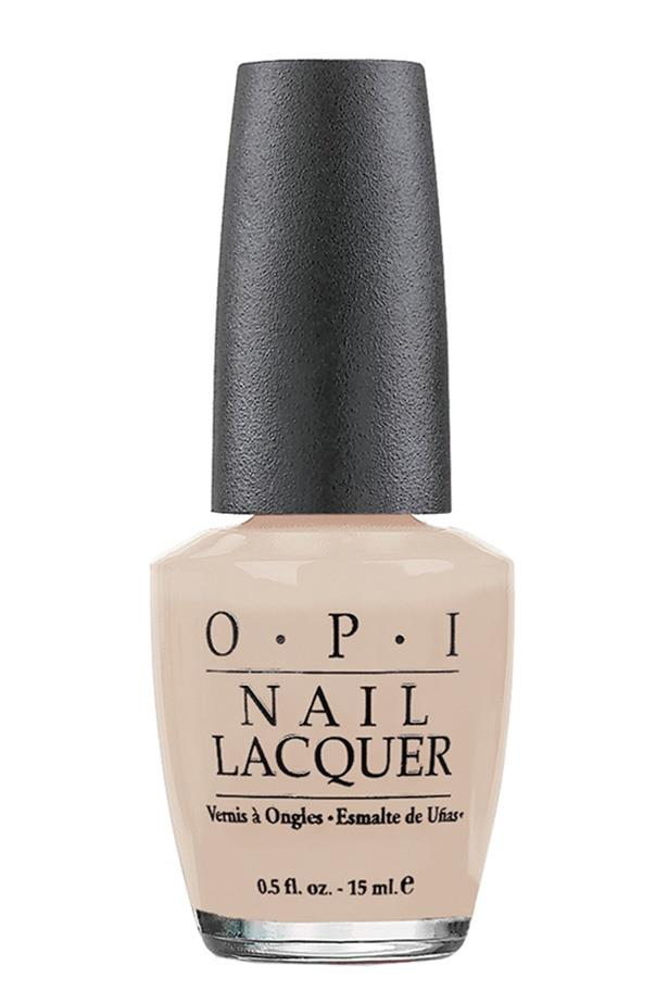 """""""It keeps my hands looking polished but doesn't draw attention to them."""" Genevra Leek, Fashion news director.<br><Br> Nail Polish in Samoan Sand by OPI, $19.95 at [Myer](https://www.myer.com.au/shop/mystore/1093007