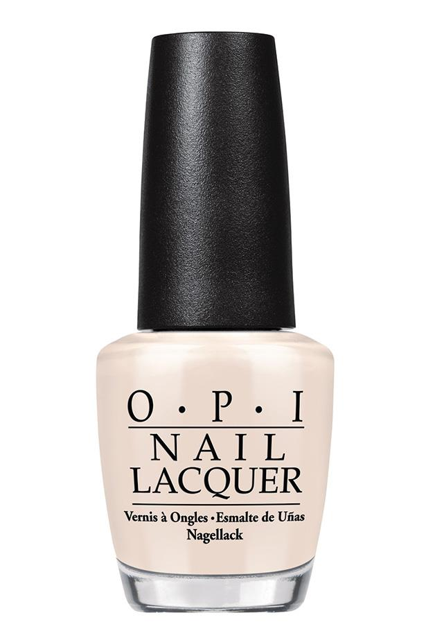 """""""It's rare to find an opaque nude, but this one hits the spot, and it reminds me of vanilla gelato."""" Elle McClure, Editorial coordinator.<br><br> Nail Polish in My Vampire is Buff by OPI, $19.95 at [David Jones](https://www.davidjones.com/Product/20328626