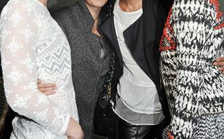 Isabel Marant for HM collection launches in Paris