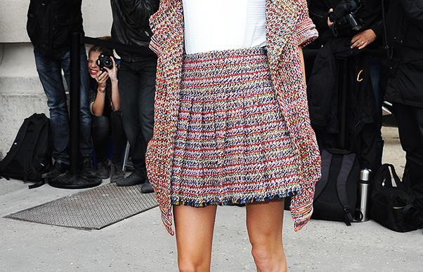 Poppy Delevingne in Chanel
