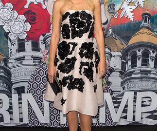 Gwyneth Paltrow in Prada on the red carpet