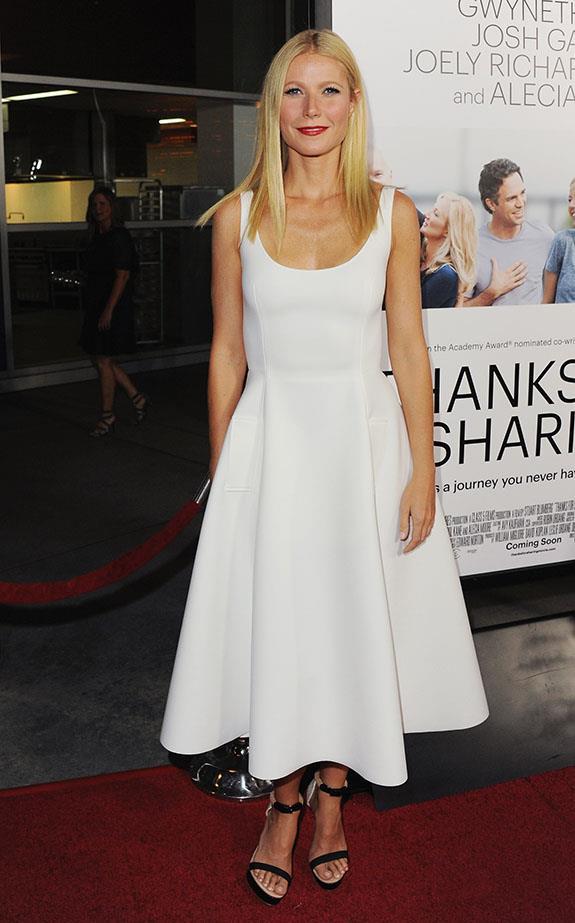 Wearing Lanvin in Los Angeles