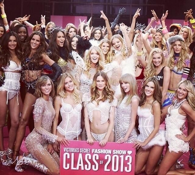 Victoria's Secret Angels of 2013