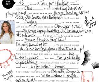 Pop quiz: Jennifer Hawkins