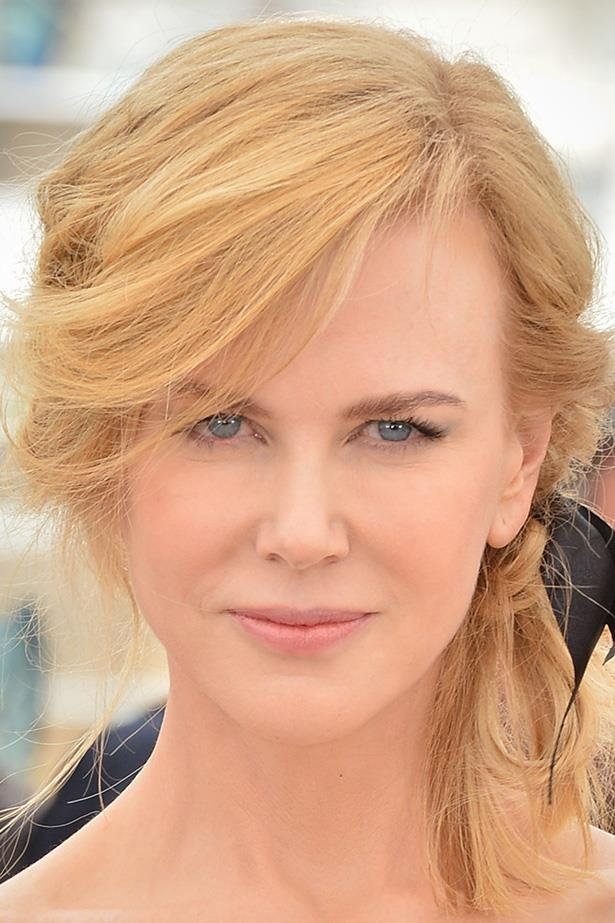 Fresh skin and soft eyes are an age-defying look for Nicole Kidman.