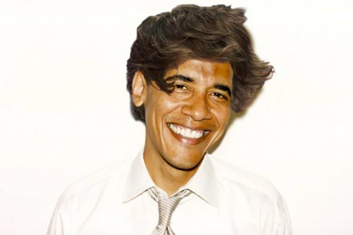 Who knew the President of the United States would wear a mop-top so well? We're going to forward this onto MObama, should they want to modernise Barack's look before the next campaign trail.