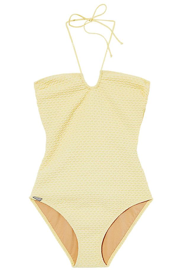<p>Beach club: sweeten your swim with sorbet shades</p> <p>Swimsuit, $291, Prism, (02) 9358 0600</p>
