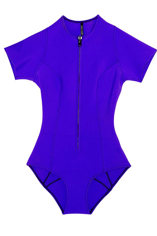 <p>New wave: whether it's surfboards at sunrise or catching the afternoon sun, sporty brights fit right in</p> <p>Swimsuit, $395, Lisa Marie Fernandez, (02) 9358 0600</p>