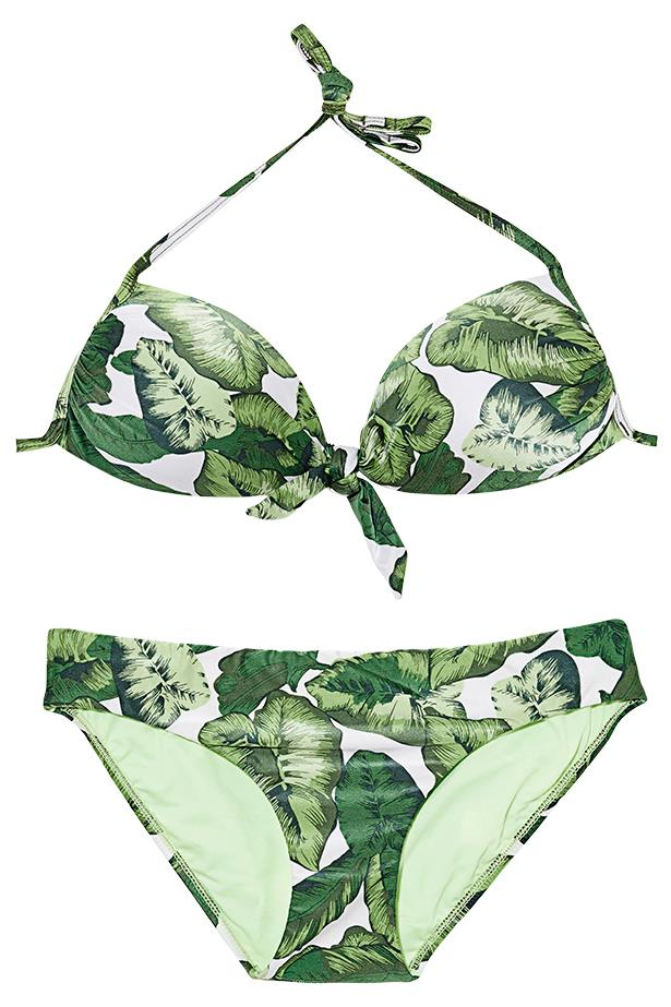 "<p>Fantasy island: Hawaii may not be on the cards, but you can still indulge in some hibiscus print</p> <p>Bikini top, $99.95, bottoms $69.95, Seafolly, <a href=""http://www.seafolly.com.au"">seafolly.com.au</a></p>"