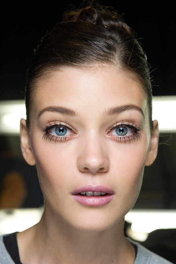 Twiggy-inspired but with a modern bend—try long lash extensions on the upper and lower lash lines finished with a flick of liquid liner.