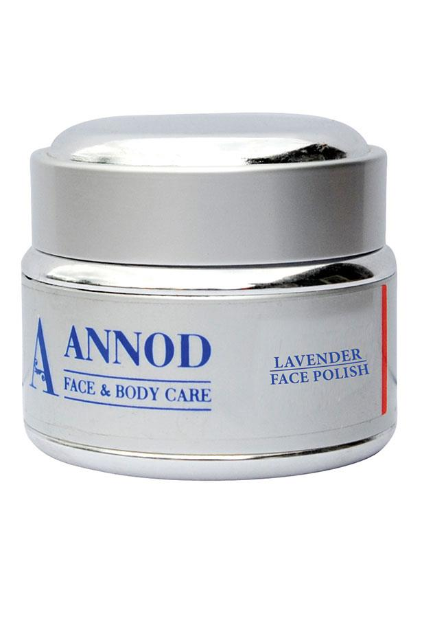 "With French lavender oil and almond meal, this product is hydrating and helps combat discoloration.<br><br> Lavender Face Polisher & Exfoliant, $49 at [Annod](https://www.annod.com.au/product/lavender-face-polisher/|target=""_blank""