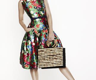 Miroslava Duma for Oscar de la Renta's The Outnet collection