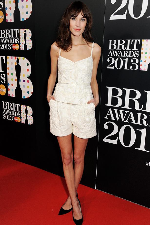 <p><strong>Most enduring it-girl</strong></p> <p><strong>Alexa Chung</strong></p> <i>Image: Wearing Valentino at the Brit Awards.</i>