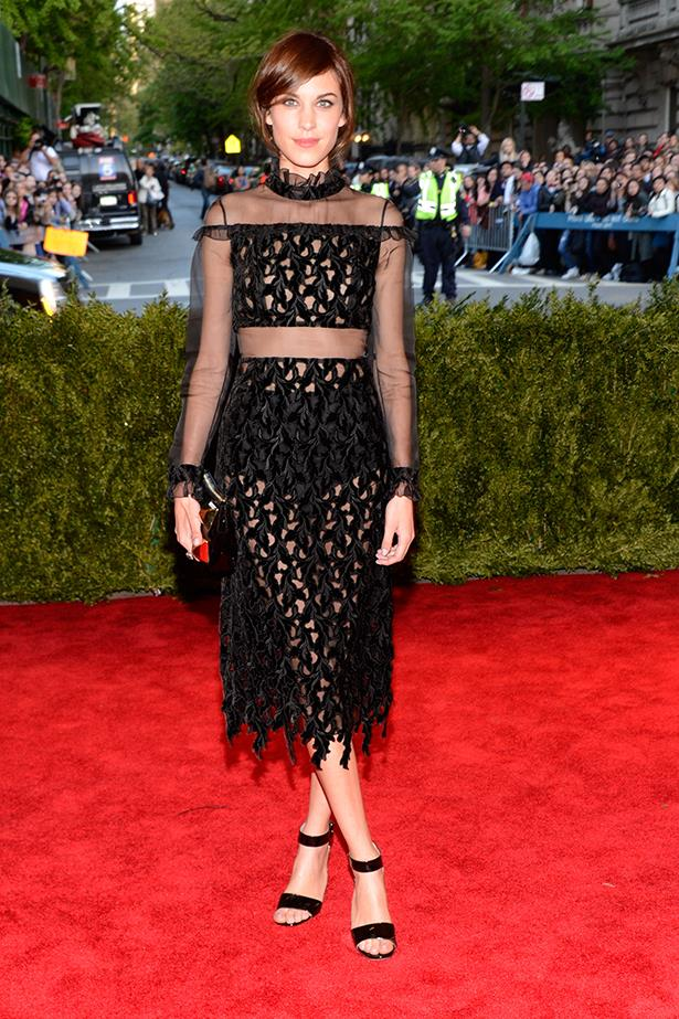 <p><strong>Most enduring it-girl</strong></p> <p><strong>Alexa Chung</strong></p> <i>Image: Wearing Erdem at the Met Ball.</i>
