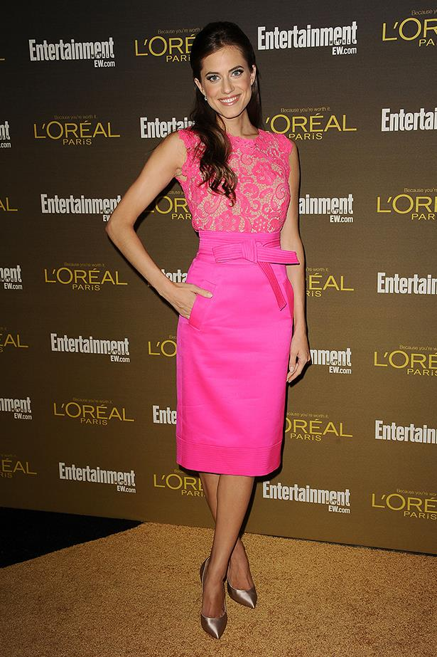 <p><strong>Most promising newcomer</strong></p> <p><strong>Allison Williams</strong></p> <p>From Oscar de la Renta to Valentino, the <em>Girls</em> star is proving she's just as polished off-screen as on.</p> <i>Image: Wearing Oscar de la Renta at the Entertainment Weekly Pre-Emmy Party.</i>