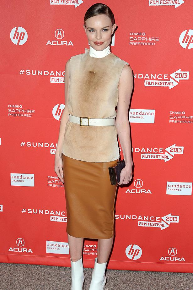 <p><strong>Best edit from the runway</strong></p> <p><strong>Kate Bosworth</strong></p> <p>Having multiple designers on speed dial could count as an unfair advantage. We're letting it pass.</p> <i>Image: Wearing Calvin Klein at Sundance Film Festival.</i>