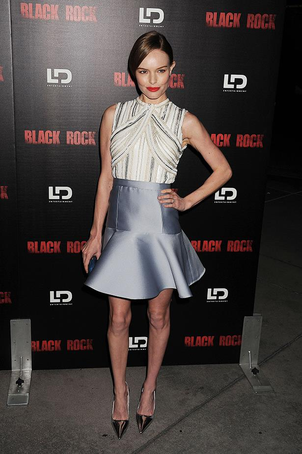 <p><strong>Best edit from the runway</strong></p> <p><strong>Kate Bosworth</strong></p> <i>Image: Wearing Miu Miu at a </i>Black Rock<i> film screening, in Los Angeles.</i>