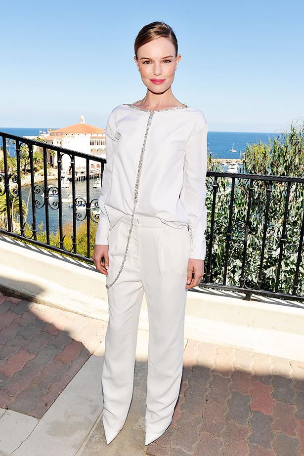 <p><strong>Best edit from the runway</strong></p> <p><strong>Kate Bosworth</strong></p> <i>Image: Wearing Thakoon at Catalina Film Festival.</i>