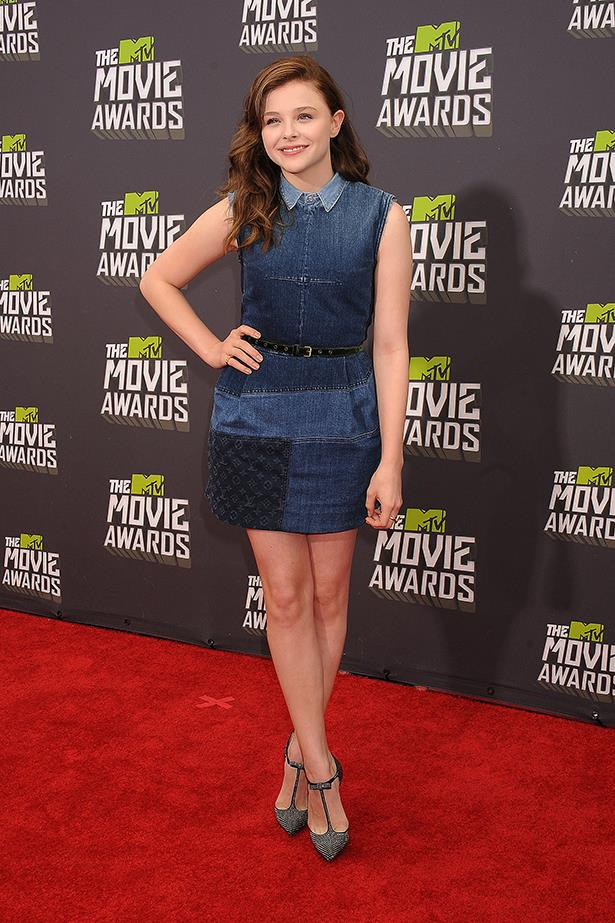 <p><strong>Teen choice award</strong></p> <p><strong>Chloë Grace Moretz</strong></p> <i>Image: Wearing Louis Vuitton at the MTV Movie Awards.</i>
