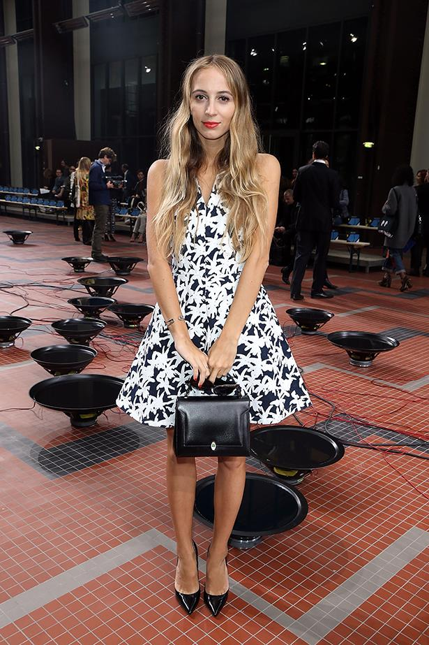 <p><strong>Best musical score</strong></p> <p><strong>Harley Viera-Newton</strong></p> <i>Image: Carrying an Anya Hindmarch handbag at Paris Fashion Week.</i>